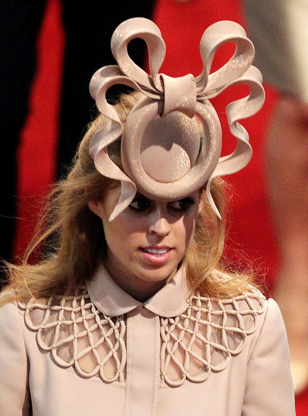 Princess Beatrice, hat, Philip Treacy