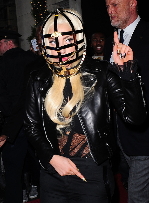 Lady GaGa and other celebrities wearing crazy headpieces