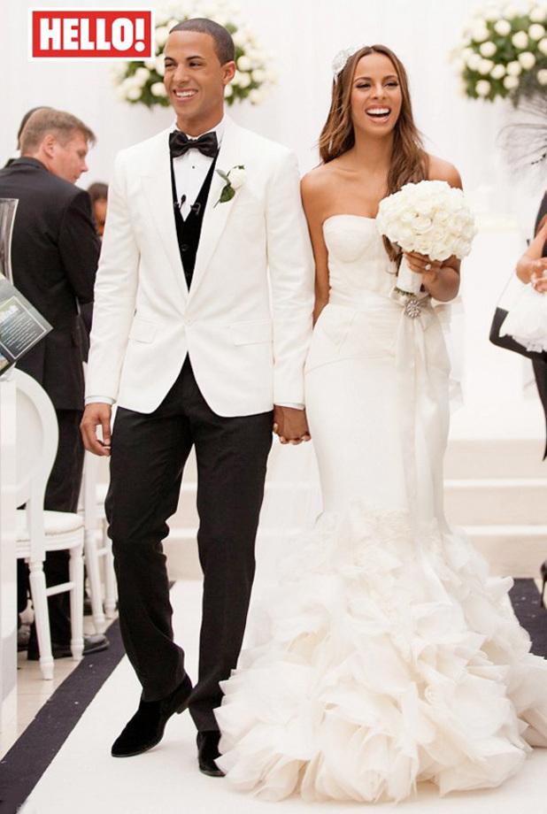 rochelle wiseman valentino wedding