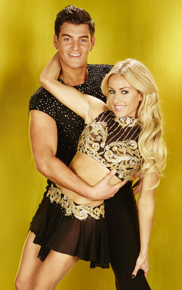 Dancing On Ice 2013: Matt Lapinskas and Brianne Delcourt