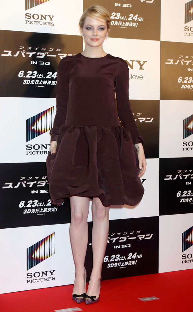 Emma Stone, Amazing Spider-Man, Japan