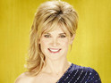 Anthea Turner reportedly pops a rib in training but hopes to be able to continue.