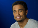 Michael Ealy poses for a portrait in New York, Wednesday, May 9, 2012.