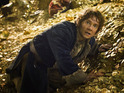 See how Martin Freeman stops himself getting bored while filming The Hobbit.