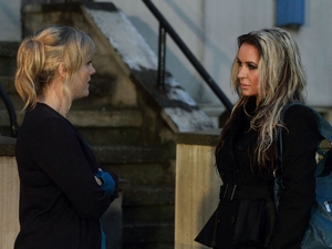 Tanya and Kirsty in EastEnders