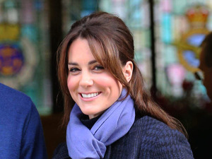 Kate Middleton leaving hospital