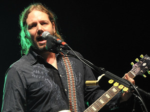 Rich Robinson of the Black Crowes performing at the Pompano Beach Amphitheater