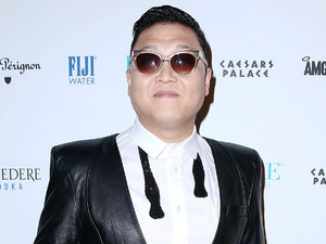 Korean singer PSY kicks of the New Years celebrations at Pure Nightclub at Ceasars Palace Resort and Casino