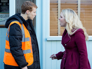 Abi loses her patience with Jay and shouts at him in the street.