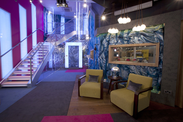 Celebrity Big Brother 2013 - First pictures of the house