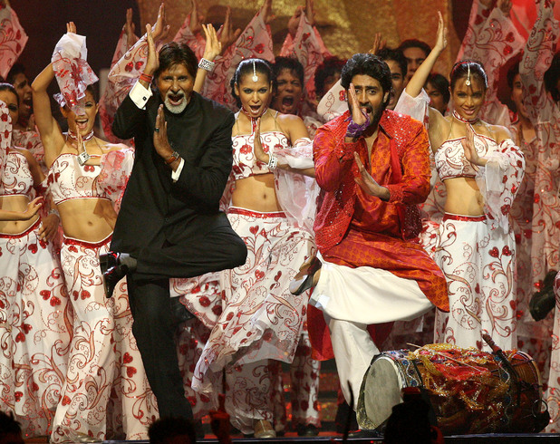 Amitabh Bachchan and Abhishek Bachchan