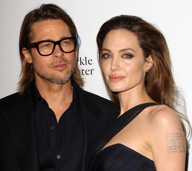 Angelina Jolie and Brad Pitt The premiere of 'In the Land of Blood and Honey' held at ArcLight Cinemas Hollywood, California - 08.12.11 Mandatory Credit: FayesVision/WENN.com