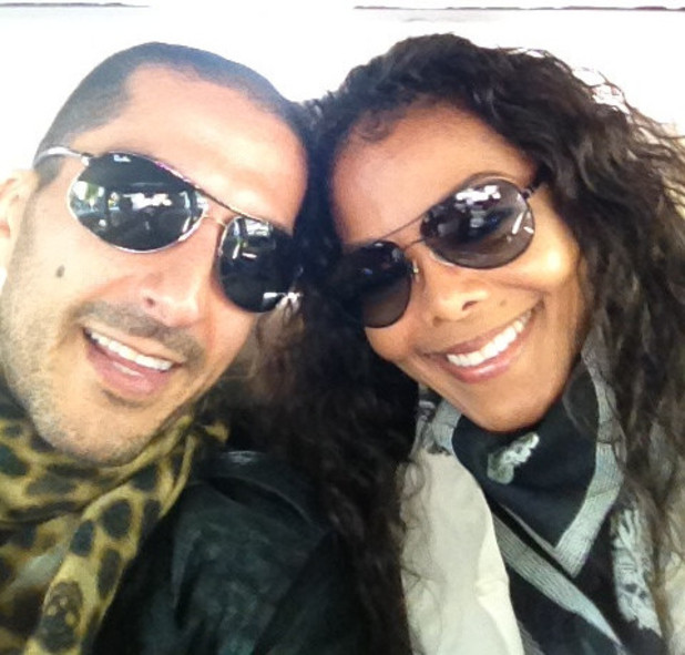 Janet Jackson and her boyfriend Wissam Al Mana