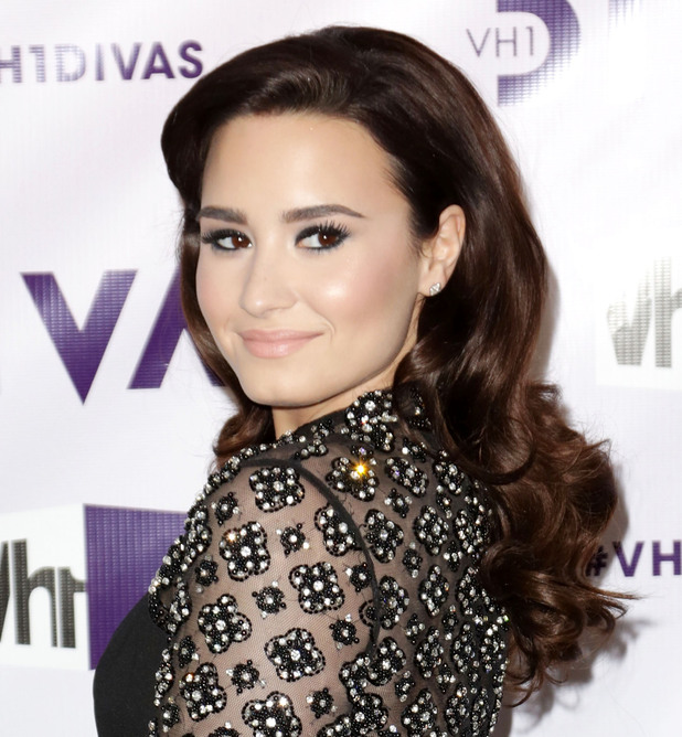 VH1 Divas 2012 held at The Shrine Auditorium - Arrivals Featuring: Demi Lovato Where: Los Angeles, California, United States When: 16 Dec 2012 Credit: Brian To/WENN.com