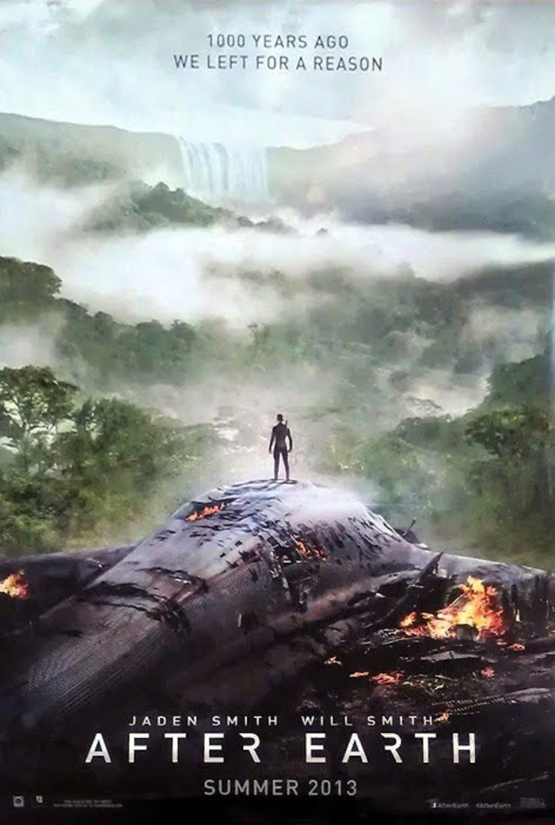 'After Earth' poster