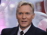"Sam Champion, the weather anchor of ABC's ""Good Morning America"" program and weather editor of ABC News, broadcasts in New York's Times Square, Wednesday, Oct. 17, 2012"