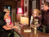 Alfie sides with Roxy after things get heated between her and Kat.