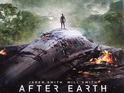 Jaden Smith observes the lost homeworld in the new artwork.