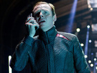 Simon Pegg says his Star Trek 3 script is almost ready, but shooting is in a month