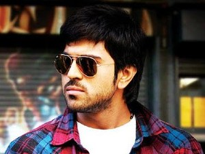 Ram Charan Teja in Orange