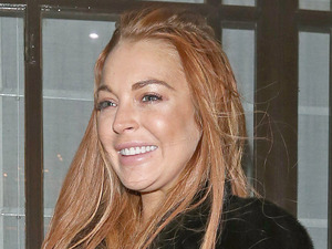 Lindsay Lohan on a night out at 'C London' Restaurant in London Featuring: Lindsay Lohan Where: London, England When: 30 Dec 2012