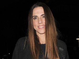 Celebrities leaving Groucho private members club Featuring: Mel C, Melanie Chisholm Where: London, United Kingdom