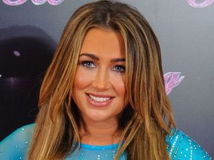 Lauren Goodger at a photocall for the launch of the new series of &#39;Dancing on Ice&#39; at the ITV Studios, London