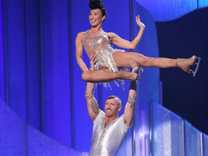 Dancing on Ice: Gareth Thomas and Robin Johnstone