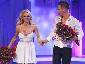 Dancing on Ice: Pamela Anderson and Matt Evers