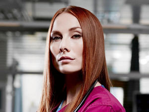 Rosie Marcel as Jac Naylor on Holby City