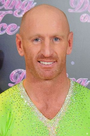 Gareth Thomas at a photocall for the launch of the new series of 'Dancing on Ice' at the ITV Studios, London