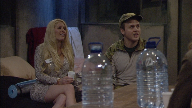 Celebrity Big Brother 2013 - Day 1: Heidi and Spencer