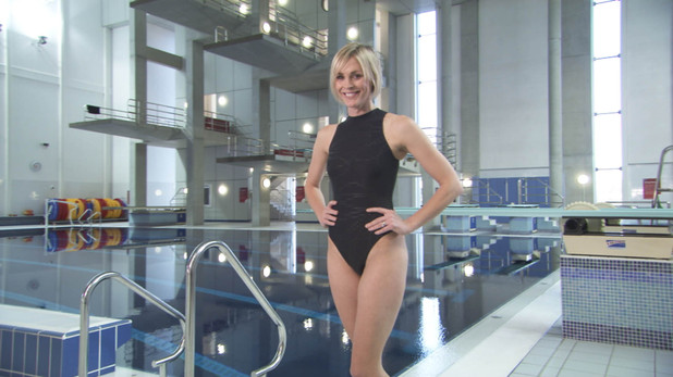 Splash: Jenni Falconer