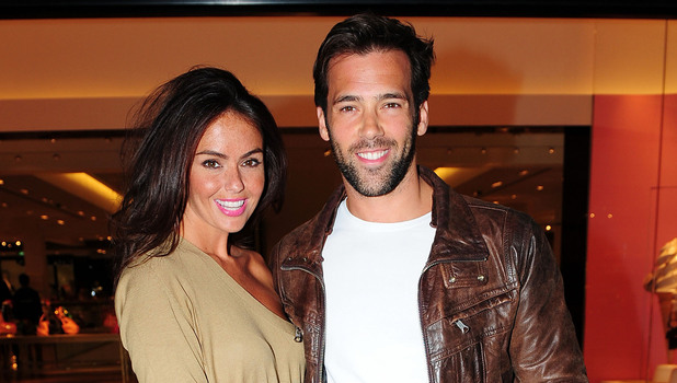 Jennifer Metcalfe and Sylvain Longchambon, at the Tracey Bell & Fake Bake Beauty Boutique party at Selfridges. Manchester, England - 07.06.12