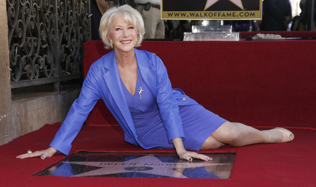 Helen Mirren - Hollywood Walk of Fame