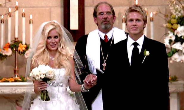Heidi Montag and Spencer Pratt Heidi and Spencer finally tie the knot, and Kristin Cavallari reappears in the Season 5 finale of MTV's 'The Hills' USA - 31.05.09