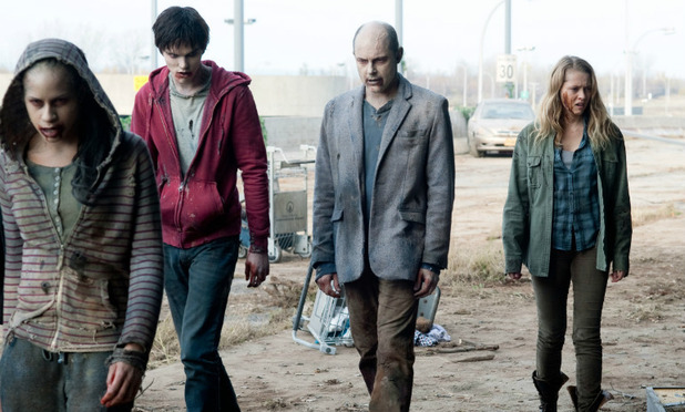 &#39;Warm Bodies&#39; still: Rob Corddry, Nicholas Hoult, Teresa Palmer