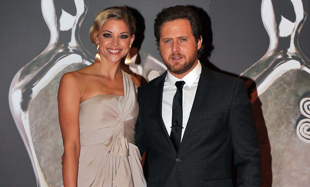 AJ Buckley and girlfriend Abigail Ochse