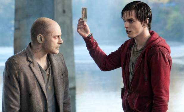 &#39;Warm Bodies&#39; still: Rob Corddry, Nicholas Hoult