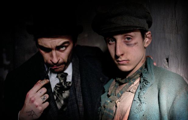 'Ripper Street' Episode 2: Carmichael (JOSEPH GILGUN), Thomas Gower (GIACOMO MANCINI)
