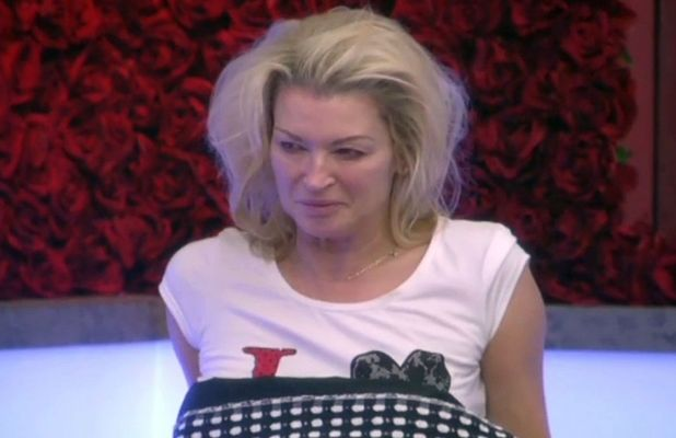 Gillian Taylforth wakes up on Day 1 of Celebrity Big Brother
