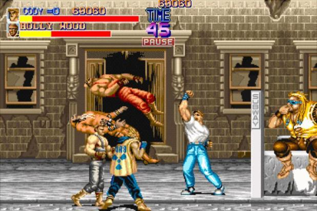 &#39;Final Fight&#39; screenshot