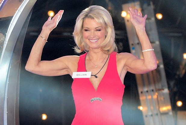 Gillian Taylforth arriving at the launch of Celebrity Big Brother 2013