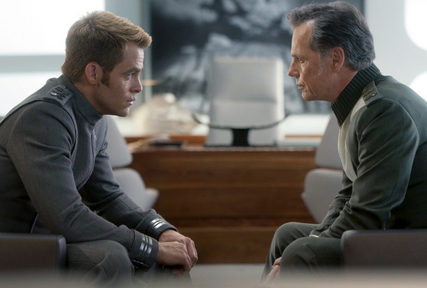 Chris Pine and Bruce Greenwood In 'Star Trek Into Darkness'