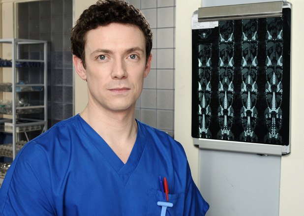Michael Thomson as Jonny Maconie in Holby City