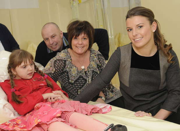 Coleen Rooney devastated after death of 'special angel' sister Rosie