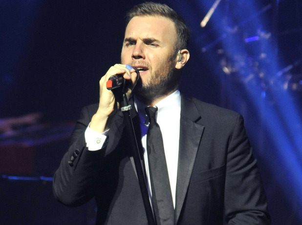 Gary Barlow performing Live at the New Theatre, Oxford for his sellout New Year's Eve concert Featuring: Gary Barlow Where: Oxford, United Kingdom When: 31 Dec 2012