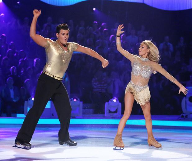 Matt Lapinskas and Brianne Delacourt