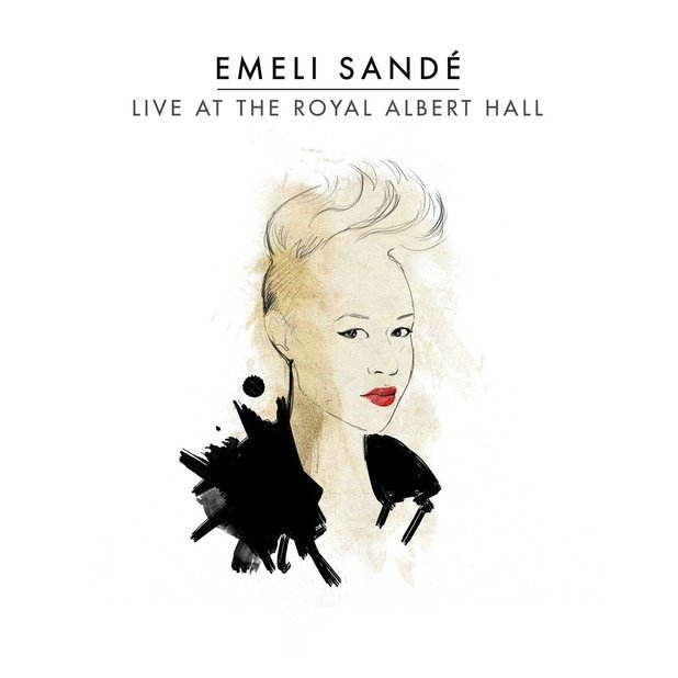 Emeli Sandé 'Live at the Royal Albert Hall' CD/DVD artwork.