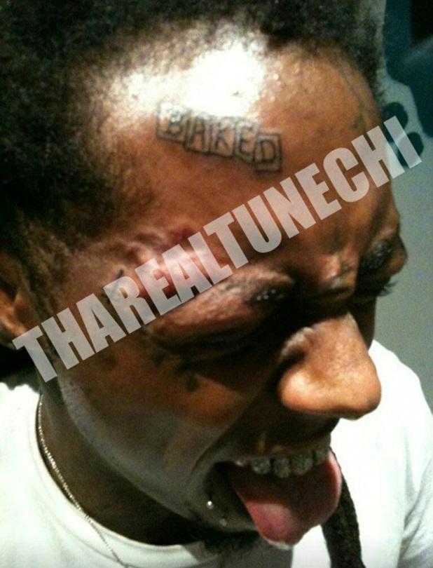 Lil Wayne 'Baked' tattoo